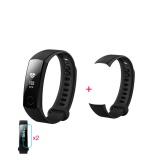 Spesifikasi Huawei Kehormatan Gelang Pintar 3 Hitam 2 Screen Stiker 1 Pita Pengganti Paling Bagus