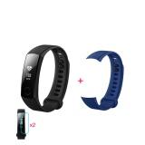 Beli Huawei Kehormatan Gelang Pintar 3 Biru 2 Screen Stiker 1 Pita Pengganti Cicil