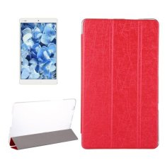 Huawei MediaPad M3 Tablet Tulang Oracle Tekstur Case Kulit Horisontal Flip dengan Tiga-lipat Pemegang