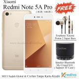 Jual Xiaomi Redmi Note 5A Pro Ram 4Gb Rom 64Gb 4G Lte Gold Baru