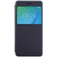 Huawei Nova Case, NILLKIN Smart Flip Case Kulit Tidur Wake Up Fungsi Jendela Kulit Flip