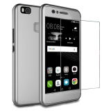 Diskon Produk Huawei P9 Lite Case Moon Case 360 ° Full Protection Matte Pc Hard Hibrida Ultra Tipis Case Tempered Glass For Huawei P9 Lite