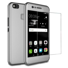 Spesifikasi Huawei P9 Lite Case Moon Case 360 ° Full Protection Matte Pc Hard Hibrida Ultra Tipis Case Tempered Glass For Huawei P9 Lite Online