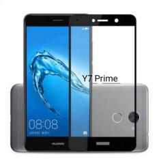 Promo Huawei Y7 Prime Full Screen Tempered Glass 2 5D 3Mm 9H List Warna Hitam Di Banten