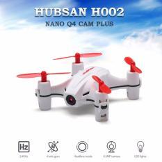 Hubsan Q4 H002 Nano Mini Quadcopter Camera 720p Drone - Putih