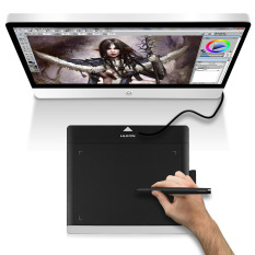 Beli Huion 680Tf Graphics Art Menggambar Tablet Painting Pad Board Usb Rechargeable Pena Internasional Oem Online