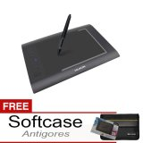Huion H58L Pen Tablet Graphic Drawing Free Softcase Dan Antigores Original