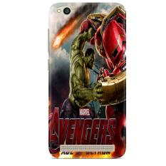 Hulk Vs Hulkbuster Avengers Age Of Ultron Z0742 casing Xiaomi Redmi 5A Custom Case