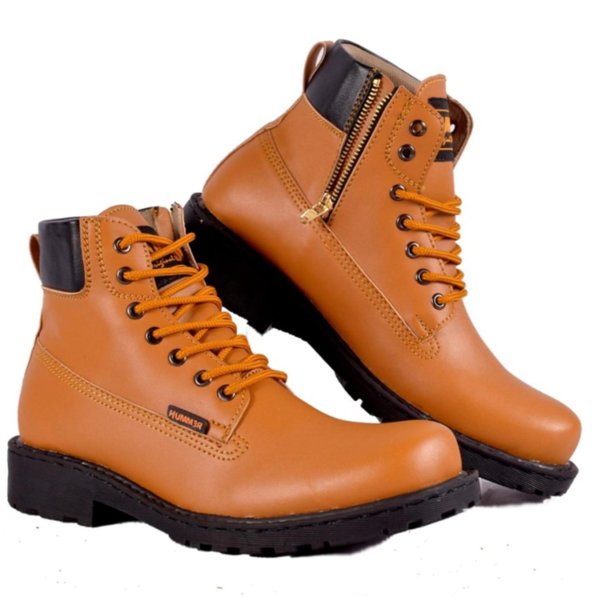 Ga Sepatu Boots Hummer Golem Brown Daftar Harga Terlengkap Indonesia Ter Humm3r Underground