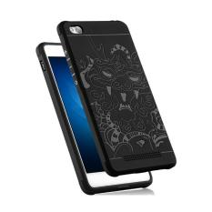 Hunter Soft Silikon TPU Shockproof Armor Dragon Case Cover For Xiaomi Redmi 3 - Black