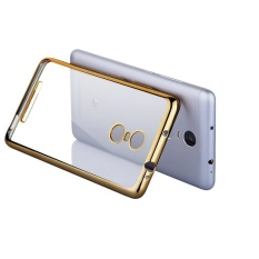 Hunter Softcase Ultrathin Shining List Chrome Aircase For Xiaomi Redmi 4 Prime - Gold