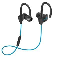Huohu Q11 Bluetooth 4.1 Olahraga Earphone Bebas Genggam Juga Nirkabel Bluetooth Headset Earphone S dengan Mikrofon Olahraga Telinga-hook Bluetooth Earphone (Merah) -Internasional