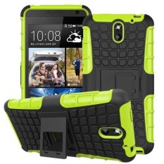 Hybrid Armor Rugged Hard Case Cover Stand Skin For HTC Desire 610 Green - intl