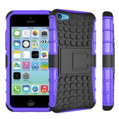 Campuran lapis ganda tugas sulit Protetion tahan guncangan pelindung ada standarnya Case penutup untuk Apple iPhone