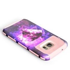 Hibrida Anti Guncangan Keras Pelindung Case Sarung untuk Samsung Galaksi S7 PK-Internasional