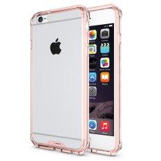 Hybrid Slim Grip TPU Bumper Hard Case Belakang Transparan PENUTUP untuk IPhone 6/6 S 4.7