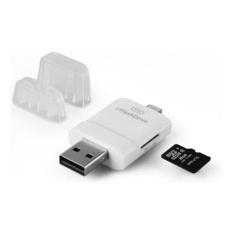 i-FlashDevice i-FlashDrive USB External Storage OTG for iOS Apple iPhone iPad (Putih)