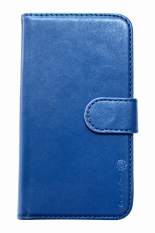 I-Gear Flipcover Original Leather untuk Lenovo A316I - Bahan Kulit - Biru