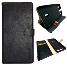 Toko I Gear Flipcover Original Leather Untuk Zenfone 4 Bahan Kulit Hitam Lengkap