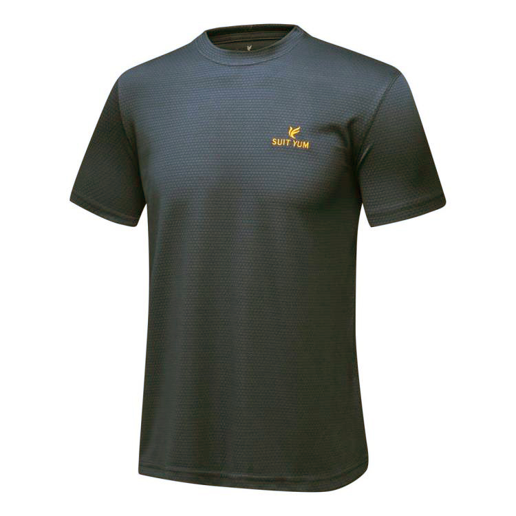 Toko T Shirt Olahraga Pria Cepat Kering Abu Abu Abu Abu Terlengkap Tiongkok
