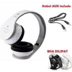 Harga I One Stereo Bluetooth Headset Headphones With Mic Putih I One Online