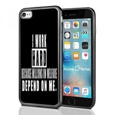 Aku Bekerja Keras Karena Jutaan Kesejahteraan Tergantung Pada Saya untuk IPhone 7 (2016) & IPhone 8 (2017) Case Cover Oleh Pasar Atom-Intl