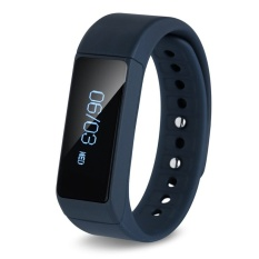 I5 Plus Smart Gelang IP67 Bluetooth 4.0 Watch Gelang Pengawas Tiduring Olahraga Pelacakan Remote Camera (Hitam)-Intl