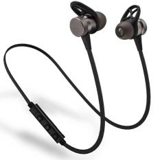 IBERL 1PC Sport Wireless Bluetooth Headphone Stereo Super Bass Headset Earphones Magnetic black - intl