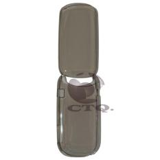 Icantiq Back cover E1272 Hardcase Samsung Caramel GT-E1272 Back Case Samsung E1272 - Transparant Black