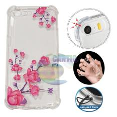 Icantiq Case Anti Crack 3D Oppo A57 Case Luxury Animasi Beautiful Flowers Blossoms Softcase Anti Jamur Air Case 0.3mm / Silicone Oppo A57 / Soft Case / Silikon Anti Shock / Case Hp / Case 3D / Anti Crack Gambar / Case Unik - 2