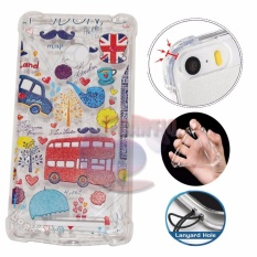 Icantiq Case Anti Crack 3D Xiaomi Redmi 4X Case Luxury Animasi London Bus Softcase Anti Jamur Air Case 0.3mm / Silicone Xiaomi Redmi 4X / Soft Case / Silikon Anti Shock / Case Hp / Case 3D / Anti Crack Gambar / Case Unik - 3