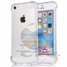 Icantiq Case For Apple iPhone5 / iPhone 5 / iPhone 5G / iPhone 5SE / iP 5 Ultrathin Anti Shock / Anti Crack Luxury Softcase Anti Jamur Air Case 0.3mm / Silicone iPhone 5 / Soft Case / Case Hp - Putih Transparant