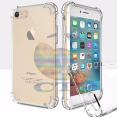 Icantiq Case For Apple iPhone6+ / iPhone 6 Plus / iP 6G+ / iPhone 6S+ / iP 6 Plus Ukuran 5.5 inch Ultrathin Anti Shock / Anti Crack Luxury Softcase Anti Jamur Air Case 0.3mm / Silicone iPhone 6 / Soft Case / Case Hp - Putih Transparant