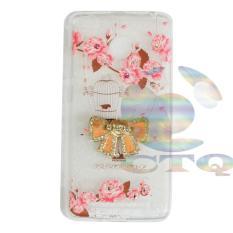 Icantiq Case Xiaomi Redmi 4X Softshell Mutiara Animasi Vintage Sangkar Burung + Holder Ring Pita Soft Case / Soft Back Case / Sillicone / Casing Handphone / Casing HP / Case Xiaomi Redmi 4X / Case Unik - 5