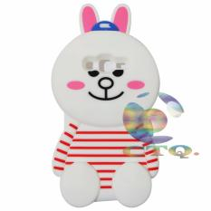 Icantiq Cony Rabbit's Case 3D For Samsung Galaxy J2 Prime Silicone 3D Boneka Cony Line Jelly Case / Silicone / Soft Case / Case Unik / Case Samsung Galaxy J2 Prime / Case Boneka - Cony Bunny Case