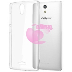 Icantiq Oppo Mirror 3 / Oppo R3007 Softcase Oppo Mirror 3 / Softshell / Ultrathin / Ultra Thin / Silikon / Silicone / Casing HP - Putih Transparan