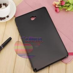 Icantiq Silicone Case Samsung Galaxy Tab A 2016 10.1 inch With S-Pen P580 P585 Ultrathin Elegant Softcase Anti Jamur Air Case 0.3mm / Jelly Case Samsung Tab A 2016 P580 P585 / Case Samsung Tab P585 P580 / Sarung Case / Silikon Case - Hitam