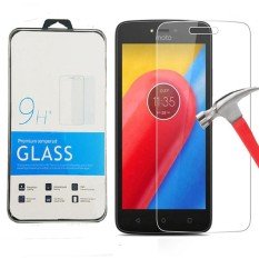 Icantiq Temper Glass Protektor Motorola Moto C Ukuran 5.0 Inch Tempered Glass Moto C Anti Gores Kaca 9H / Pelindung Layar / Screen Guard Motorola / Screen Protection /  Temper Kaca / Pelindung Layar Kaca - Transparant