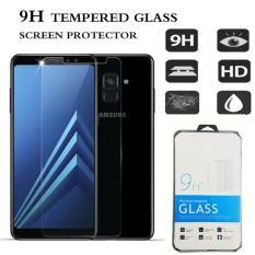 Icantiq Temper Glass Samsung Galaxy A8 Plus 2018 Ukuran 6.0 Inch Tempered Glass Samsung Galaxy A8+ 2018 Anti Gores Kaca 9H / Pelindung Layar / Screen Guard Samsung A8Plus 2018 / Screen Protection /  Temper Kaca / Pelindung Layar Kaca - Transparant