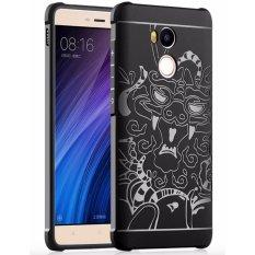 iCase Casing Handphone Xiaomi Redmi 4s / Redmi 4 Prime / Redmi 4 Pro Cocose Dragon Softcase Series - Black