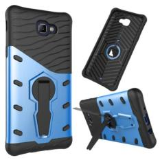 iCase Sniper Armor Dual Layered TPU+PC Hybrid Back Cover Phone Case with 360 Kickstand for Samsung