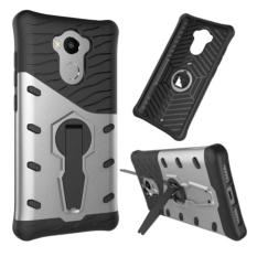 iCase Sniper Armor Dual Layered TPU+PC Hybrid Back Cover Phone Case with 360 Kickstand for Xiaomi R