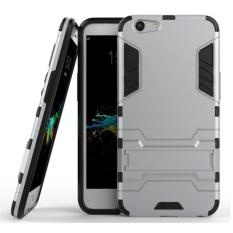 iCase Sniper Armor Dual Layered TPU+PC Hybrid Back Cover Phone Case with 360 Kickstand for OPPO F1S