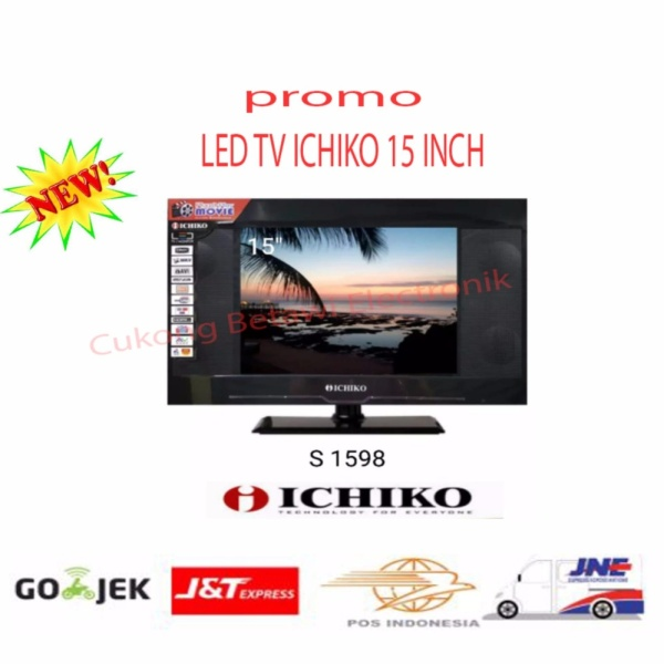 Ichiko 15 INCH S1598 LED TV-Hitam -Promo