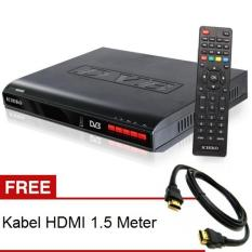 Ichiko DV 8000HD Set Top Box DVB T2 Tv Digital Receiver + Kabel HDMI & RCA