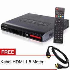 Ichiko DV 8000HD Set Top Box DVB T2 Tv Digital Receiver + Kabel HDMI