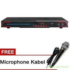 Ichiko DVD Player DV-VR960 - Hitam + Free Microphone Kabel sony