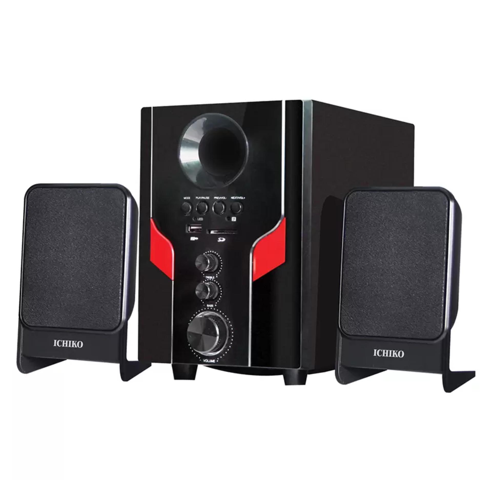 Diskon Ichiko Model As20 Multimedia Bluetooth Speaker Hitam Branded