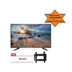 ICHIKO SMART TV LED 55inch Ultra HD 4K (model ST5596) Free Bracket