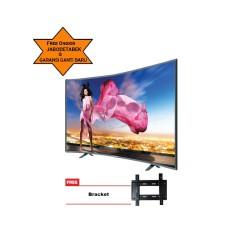 ICHIKO TV LED 49inch Ultra HD 4K Curve Basic (model S4998) Free Bracket